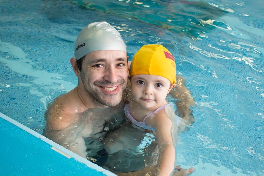 natação bebê